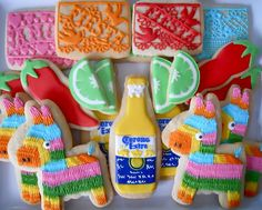 .Oh Sugar Events - Fiesta Cookies