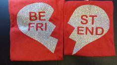 Best Friend glitter vinyl shirts #BBDsBoutique