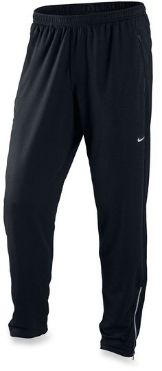 Nike Perfect Track Pants - Men's - Free Shipping at REI.com; basically sweat pants that i can wearing hiking or running that isn't baggy, but doesn't suffocate my nuts