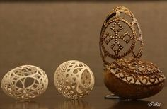 Inka-art.pl - Pisanki ażurowe, #Pisanka, #Pysanka, #Osterei, #huevo de #Pascua #pisanki #eggshel #art #carved - Bożena Oboza Carved Eggs, Art Carved, Egg Art, Easter Ideas, Easter Eggs, Decorative Plates, Carving, Eggshell, Wood Carvings