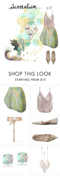 """""""Get Into This Surrealism"""" by traunicorn ❤ liked on Polyvore featuring Comme des Garçons, Sans Souci, Isabel Marant, N°21, Glitzy Rocks and Umbra"""