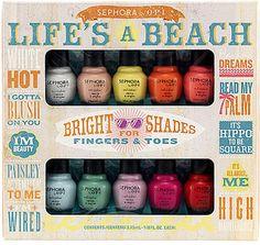 OPI Lifes A Beach Mini Kit