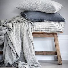 Shop our pure linen luxury collection. Our products are grown, spun, woven and sewn in Europe. Discover relaxed living with the luxury of our linen bedding. Linen Pillows, Linen Bedding, Bed Linens, Linen Napkins, Cushions, Contemporary Bed Linen, Cheap Bed Sheets, Bed Linen Design, Bedding Sets Online