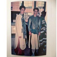 Backstage fashion shoot for @rosiebrdhd #fishleather #menswear
