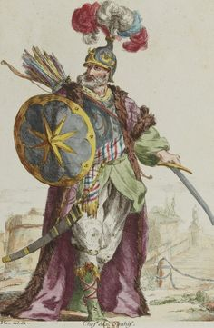 Chief of Ottoman Sipahis