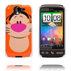 Happy Cartoon (Tiger) HTC Desire G7 Deksel Cartoon Tiger, Happy Cartoon, Wish List, Funny