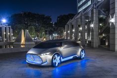 2015 Mercedes-Benz Vision Tokyo Concept  #FCV #Segment_M #Mercedes_Benz_Vision_Tokyo #Tokyo_Motor_Show_2015 #Concept #Mercedes_Benz #German_brands #2015MY