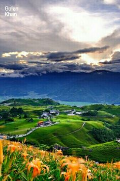 Awesome view of the Beautiful nature beauty of Taiwan