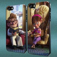 Up Disney Carl and Ellie Disney Couple Custom Case by Hoodiefield