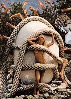 Salvador Dali for Playboy Magazine, 1973