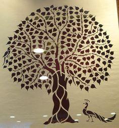 Banyan Tree | Sanjhi Art