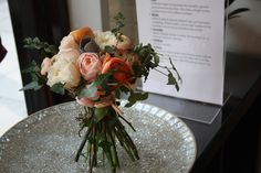 Perfect for a Summertime wedding these peach roses, ranunculus and cream peony roses made for one of our favourite bridal bouquets - such a stunning colour scheme. White Ranunculus, Peony Rose, Ranunculus Boutonniere, Summer Wedding, Wedding Day, Color Plan, Rose Design, Bridal Bouquets, Special Day
