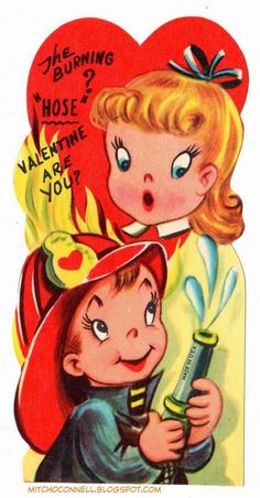 vintage everyday: 50 Strange and Unintentionally Funny Vintage Valentine's Day Cards