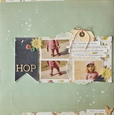 this would be really cute for an easter page for bryson