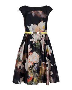 ee0677528 Opulent bloom full skirt dress - Black