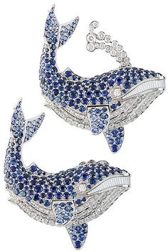 Van Cleef and Arpels - Baleine Bleue