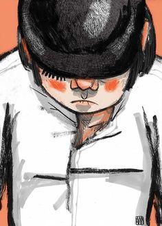 Clockwork Orange (Sketch) on Behance by ale mercado