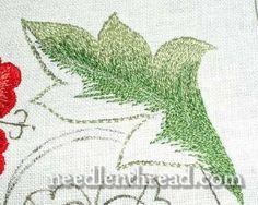 Silk Work Embroidery Sampler