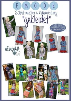 Nemada, gekleidet, 74-140, Kleid, mit oder ohne Kaputze / Hoodie, Volant