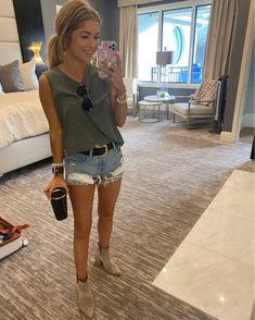 Womens Muscle Tank, Muscle Tanks, Summer Wear, Style Me, App, Fashion Outfits, My Love, Cute, How To Wear