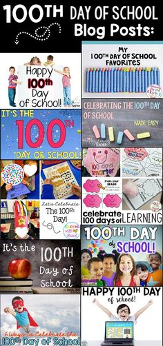 100th Day of School: Ideas, Activities, & FREEBIES!