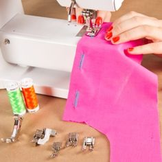 Beginner Sewing 4: How to Use Specialty Machine Feet