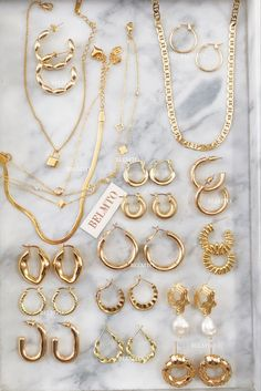Ear Jewelry, Dainty Jewelry, Cute Jewelry, Gold Jewelry, Jewelery, Jewelry Accessories, Fashion Accessories, Women Jewelry, Simple Jewelry