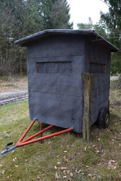 How to Build an Insanely Mobile and Comfortable Hunting Blind [PICS] - Wide Open Spaces