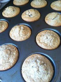 Yep, another muffin recipe! What can I say.....I love 'em and my kids will eat them. Score! As I was pinning today, I came across this th...