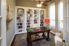 Highland Homes | Hardin Lake | Home Office | McKinney, TX | Plan 537
