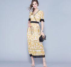 Elegant Long Ethnic Dress https://pinoria.com/shop/elegant-long-ethnic-dress/ #dress #fashion #style #mode #beauty