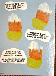 It's a Preschool Party: Fall Candy Corn Activity
