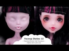 *Craft and Draw*: #Custom Doll# ~Monster High Repaint~