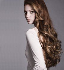 really pretty long curles