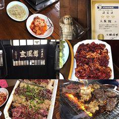 福岡の夜    キタナシュランに出たお店。  美味かったです。  😂🤣😂煙との戦い。    #玄風館