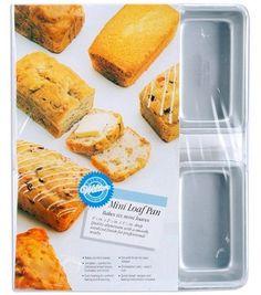 "$9.74 Wilton Mini Loaf Pan 6 Cavity-4-1/2"" X 2-1/2"" X 1-1/2""Wilton Mini Loaf Pan 6 Cavity-4-1/2"" X 2-1/2"" X 1-1/2"","