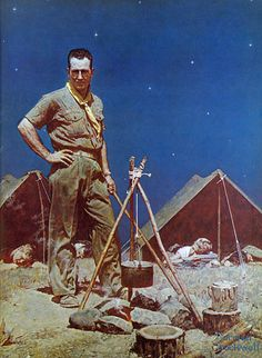 norman rockwell boy scout - Google Search