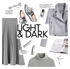 """""""Light&dark"""" by punnky ❤ liked on Polyvore featuring Loeffler Randall, Diptyque, Retrò, Haute Hippie and Georg Jensen"""