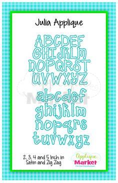 Font 5 /'Adele/' Alphabet Full Size