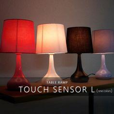 テーブルライト1灯タッチセンサーランプL【テーブルランプフロアライトフロアランプ間接照明照明器具照明北欧テイストシンプルインテリアおしゃれ】