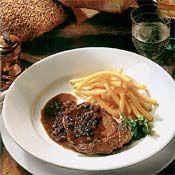 Steak au Poivre Recipe Le Cordon Bleu Home Edition at Cooking.com