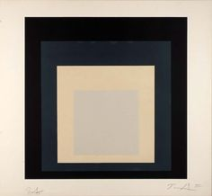 st1mu11:  Homage to the Square, 1973 Josef Albers