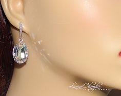 Wedding Mother of The Bride Gift Earrings Swarovski by LanaChayka, $32.00