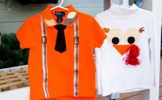 Tanya Memme's DIY Thanksgiving Kid's Clothing