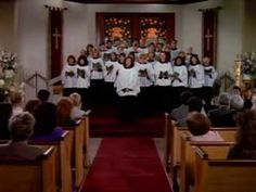"""""""How Great Thou Art"""" has been one of my long-time favorite hymns. I've heard many beautiful renditions of this classic hymn, but none touch me as much as this one. When the camera pans to Hal Halbrook (Dixie Carter's husband) and there is a glint of a tear in his eye, I get weepy eyed, too."""