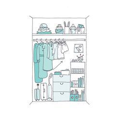 Cómo-ordenar-armario-Marie Kondo