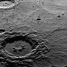 Hi, Hokusai! This dramatic image features Hokusai in the foreground, famous for its extensive set of rays, some of which extend for over a thousand kilometers across Mercury's surface.   by NASA Goddard Photo and Video