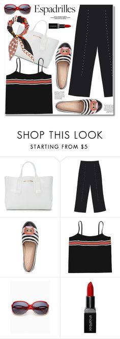 Espadrilles by paculi on Polyvore featuring Gucci, Smashbox, Piel Leather and espadrilles