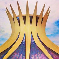 the Magic and powerful Cathedral of Brasília - Brazil  TAG: #BraziliLike @PipoDamasio #Brazil  #Castle #likeforlike #newyork #building#flower #brasil # #berlin#avenue #road#europe#trip #londres #beach #buildings#travel #Brasilia#London #england#cathedral #palace#travelling #paris#capital#canada@triplookers #norway#landscape#skyline#riodejaneiro