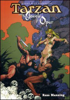 Tarzan and the Jewels of Opar, art by Mark Schultz